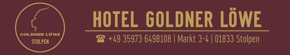 HOTEL GOLDNER LÖWE in STOLPEN